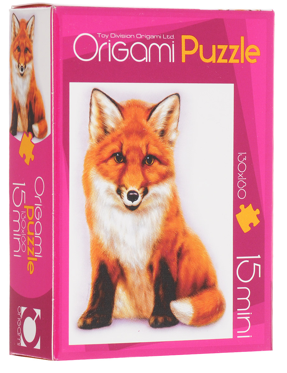 Оригами Пазл для малышей Лисенок