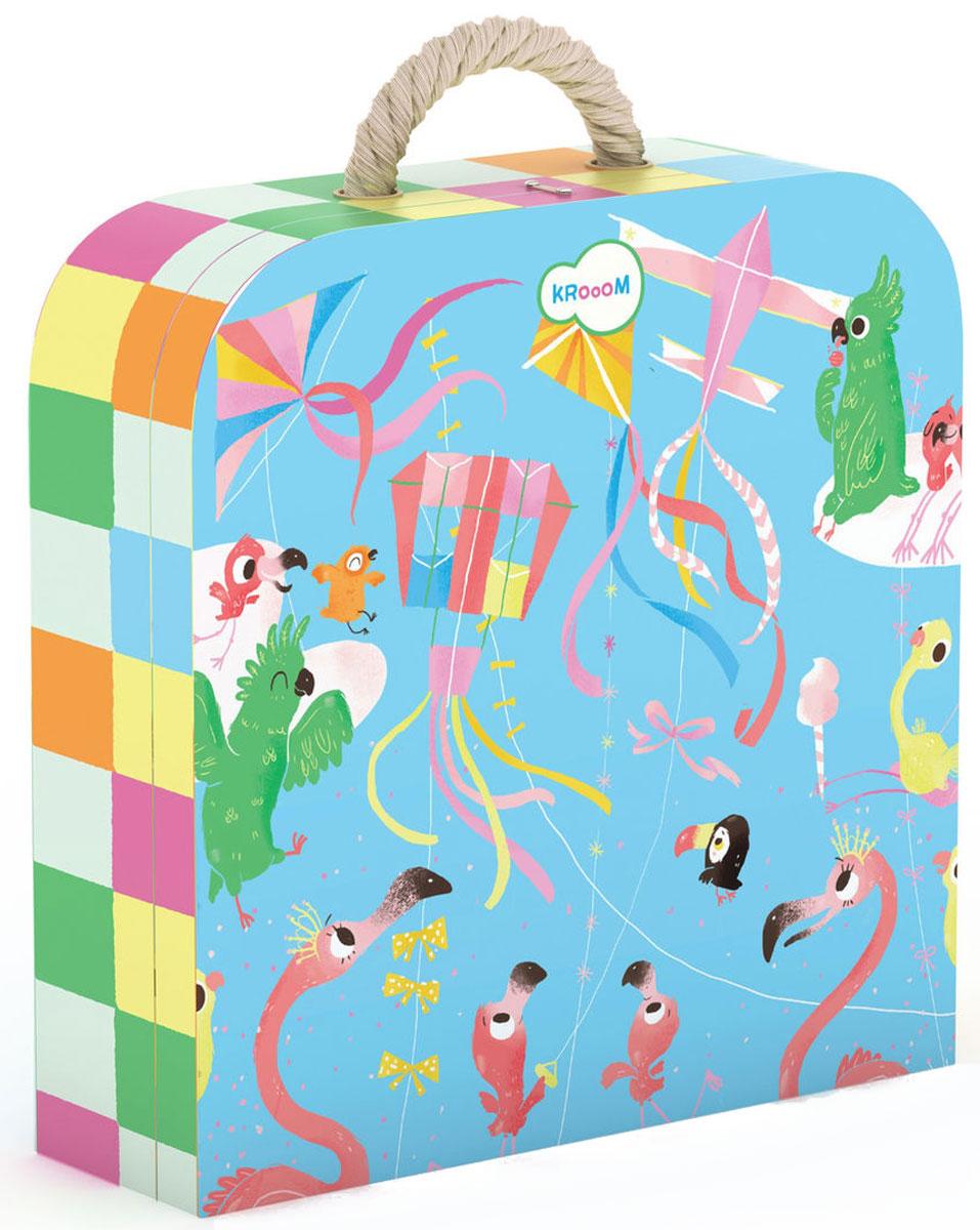 Krooom Пазл для малышей Воздушные змеи -
