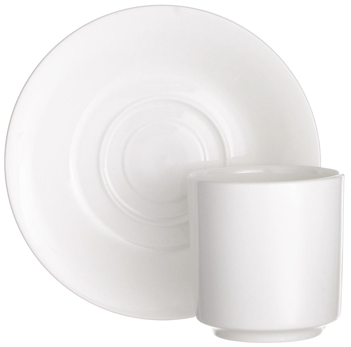Чайная пара Wilmax, 2 предмета. WL-99302054 009312Чайная пара Wilmax состоит из чашки и блюдца, выполненных из высококачественного фарфора.Чайная пара украсит ваш кухонный стол, а также станет замечательным подарком к любому празднику.Объем чашки: 150 мл.Диаметр чашки (по верхнему краю): 6,5 см.Диаметр основания чашки: 4,5 см.Высота чашки: 7 см.Диаметр блюдца: 14 см.