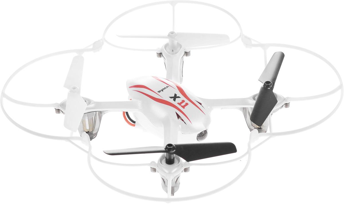 Syma Квадрокоптер на радиоуправлении X11 Hornet цвет белый