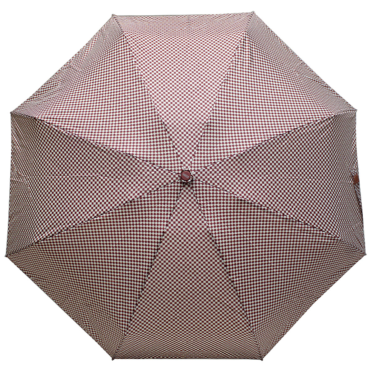 Зонт женский Vogue, цвет: бордовый, белый. 345V-4REM12-CAM-GREENBLACKСтильный механический зонт испанского производителя Vogue оснащен каркасом с противоветровым эффектом.Каркас зонта включает 8 спиц. Стержень изготовлен из стали, купол выполнен из прочного полиэстера.Зонт является механическим: купол открывается и закрывается вручную до характерного щелчка. Такой зонт не только надежно защитит вас от дождя, но и станет стильным аксессуаром, который идеально подчеркнет ваш неповторимый образ. Рекомендации по использованию: Мокрый зонт нельзя оставлять сложенным. Зонт после использования рекомендуется сушить в полураскрытом виде вдали от нагревательных приборов. Чистить зонт рекомендуется губкой, используя мягкие нещелочные растворы.
