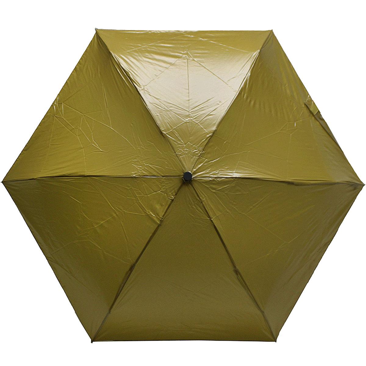 Зонт женский Vogue, цвет: хаки. 454V-2Колье (короткие одноярусные бусы)Стильный механический зонт испанского производителя Vogue оснащен каркасом с противоветровым эффектом.Каркас зонта включает 6 спиц. Стержень изготовлен из стали, купол выполнен из прочного полиэстера.Зонт является механическим: купол открывается и закрывается вручную до характерного щелчка.Такой зонт не только надежно защитит вас от дождя, но и станет стильным аксессуаром, который идеально подчеркнет ваш неповторимый образ. Рекомендации по использованию: Мокрый зонт нельзя оставлять сложенным. Зонт после использования рекомендуется сушить в полураскрытом виде вдали от нагревательных приборов. Чистить зонт рекомендуется губкой, используя мягкие нещелочные растворы.