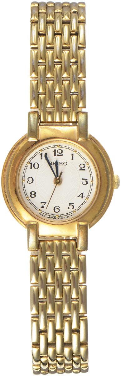 Zakazat.ru Женские наручные часы Золотой век от компании Seiko. Золочение. Нержавеющая сталь, минеральное стекло. Кварцевый механизм. Япония, 1980-е годы