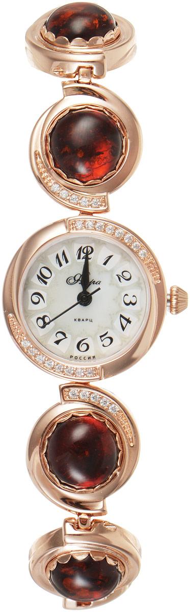 Zakazat.ru: Часы наручные женские Mikhail Moskvin Флора. Ярослава, цвет: золотистый, бордовый. 1138B8K-B1