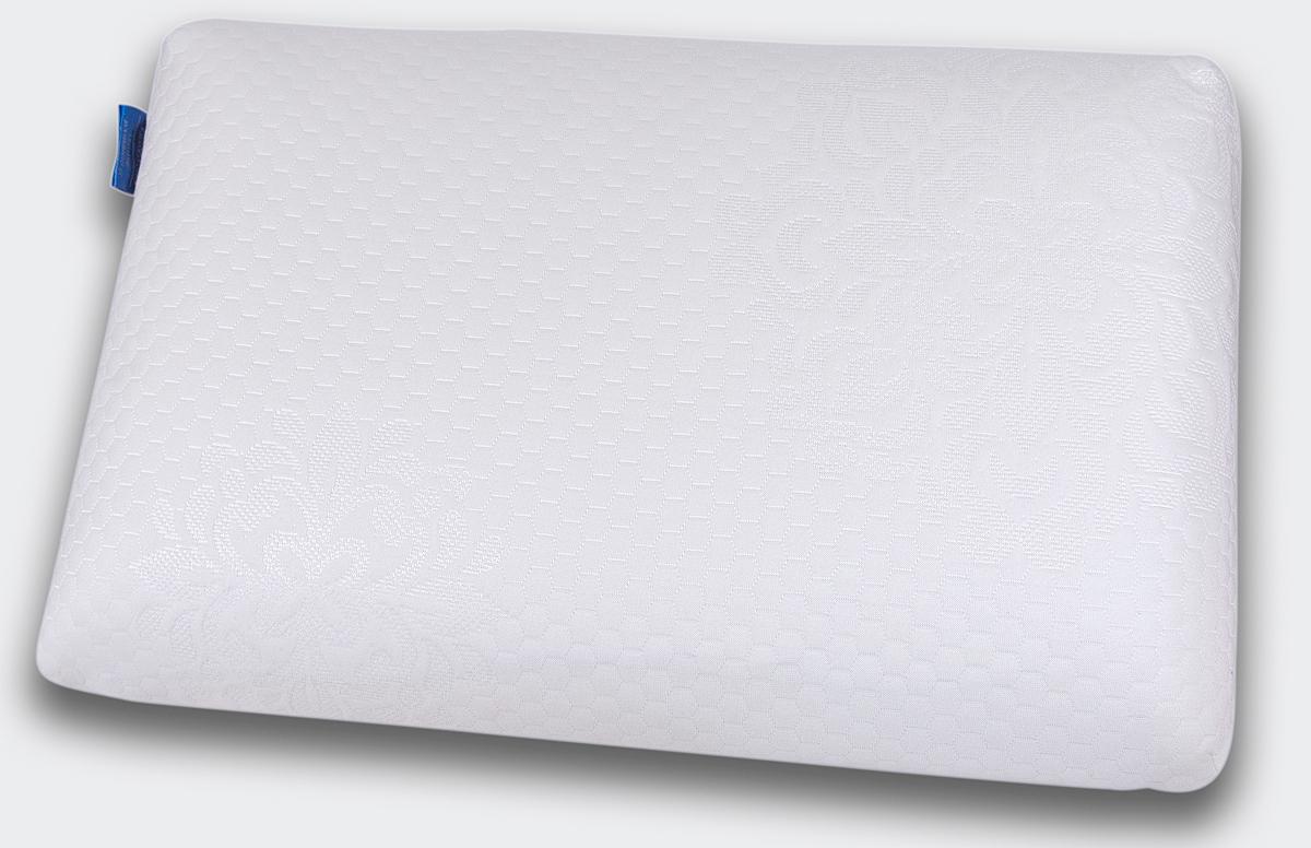 Подушка анатомическая IQ Sleep Cool Feel, с эффектом памяти, 90 x 385 x 600 ммZ-0307Анатомическая супер комфортная подушка Cool Feel, размера S, создана на основе анатомической пены с эффектом памяти для упругой, но нежной поддержки головы и шеи, ощущения приятного охлаждения и великолепного комфорта во время сна.Cool Feel не требует наличия специальных валиков для поддержки шеии предназначена для: - обеспечения естественного положения и полноценного отдыха шеи и головы- профилактики спазма затылочных мышци шеи- улучшения кровоснабжения головного мозга и стимулирования работы мозга- снятия зрительной нагрузки и профилактики близорукости- профилактики инсульта в вертебро-базилярной системе- улучшения сна- профилактики общего стресса организмаCool Feel удобна в использовании. В отличие от обычных подушек, она не теряет форму и поддерживает головуи шею в течение всей ночи. Подходит для взрослых и детей от 4 лет:- для людей, которые предпочитают спать на спине, на животе, - для людей, которые предпочитают спать на боку или в разных положениях (на боку, спине, животе) с размером плеча S*. ПРЕИМУЩЕСТВА:- Принимает форму тела- Экологически чистая- Предотвращает появление клещей- Способствует крепкому сну- Не вызывает аллергию- Помогает улучшить состояние организма- Подходит для детей** Как определить размер плеча по системе IQ Sleep. Попросите кого-либо сделать замер вашего плеча. Если вам мешает одежда (воротник, стойка водолазки), постарайтесь отодвинуть ее так, чтобы она не оказывала влияние на замер. Встаньте лицом к человеку, который делает замер вашего плеча. Измерьте размер плеча от основания шеи до костного выступа на плече. Определите размер вашего плеча.Размер подушки по размеру плеча:дети 3-6 лет - 7-8,2 см дети 6-10 лет - 8,2-10 см S - 10-12,5 см M - 12,5-14,5 см L - 14,5-16,5 см XL - 16,5-18,5 см XXL - 18,5 см и болееРазмер S: 38 х 60 х 09 см. Соответствует европейскому стандарту безопасности CertiPur.Наполнитель: премиальная анатомическая пена с памятью формы