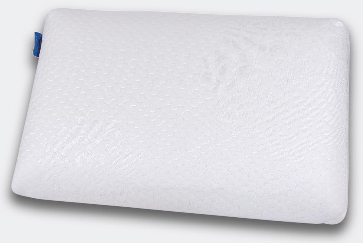 Подушка ортопедическая IQ Sleep Cool Feel, с эффектом памяти, L 140 x 380 x 580 мм100-49000000-60Анатомическая супер комфортная подушка COOL FEEL L создана на основе анатомической пены с эффектом памяти Cool Feel для упругой, но нежной поддержки головы и шеи, ощущения приятного охлаждения и великолепного комфорта во время сна.COOL FEEL не требует наличия специальных валиков для поддержки шеии предназначена для: - обеспечения естественного положения и полноценного отдыха шеи и головы- профилактики спазма затылочных мышци шеи- улучшения кровоснабжения головного мозга и стимулирования работы мозга- снятия зрительной нагрузки и профилактики близорукости- профилактики инсульта в вертебро-базилярной системе- улучшения сна- профилактики общего стресса организмаCOOL FEEL удобна в использовании. В отличие от обычных подушек, она не теряет форму и поддерживает голову и шею в течение всей ночи. Подходит для взрослых и детей от 4 лет:- для людей, которые предпочитают спать на спине, на животе, - для людей, которые предпочитают спать на боку или в разных положениях (на боку, спине, животе) с размером плеча L *. ПРЕИМУЩЕСТВА:- Принимает форму тела- Экологически чистая- Предотвращает появление клещей- Способствует крепкому сну- Не вызывает аллергию- Помогает улучшить состояние организма- Подходит для детей** Как определить размер плеча по системе IQ Sleep. Попросите кого-либо сделать замер вашего плеча. Если вам мешает одежда (воротник, стойка водолазки), постарайтесь отодвинуть ее так, чтобы она не оказывала влияние на замер. Встаньте лицом к человеку, который делает замер вашего плеча. Измерьте размер плеча от основания шеи до костного выступа на плече. Определите размер вашего плеча.Размер подушки по размеру плеча:дети 3-6 лет - 7-8,2 см дети 6-10 лет - 8,2-10 см S - 10-12,5 см M - 12,5-14,5 см L - 14,5-16,5 см XL - 16,5-18,5 см XXL - 18,5 см и болееРазмер L: 38 х 58 х 14 см. Соответствует европейскому стандарту безопасности CertiPur.Наполнитель: премиальная анатомическая пена 