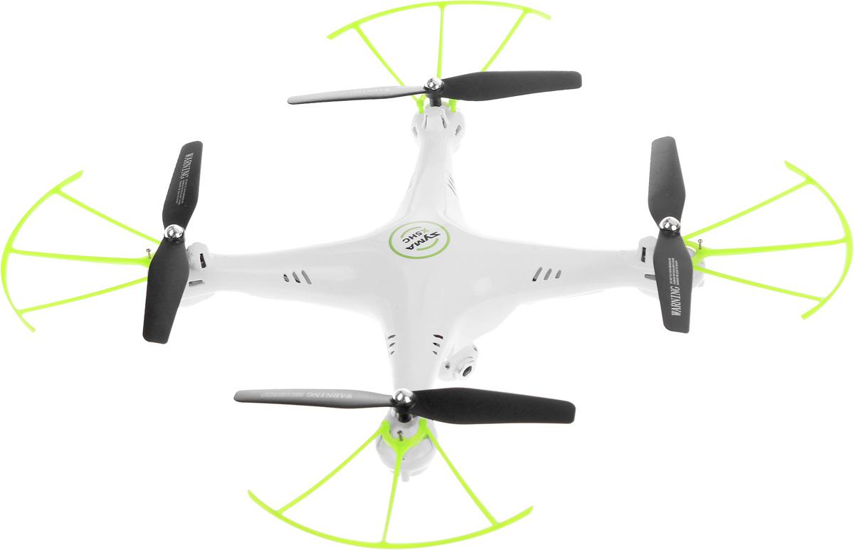 Syma Квадрокоптер на радиоуправлении X5HC цвет белый