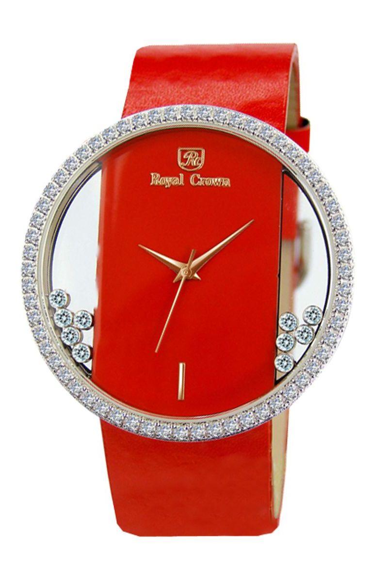 Часы наручные женские Royal Crown, цвет: серебристый. 6110-RDM-3BM8434-58AERoyal Crown- воплощение безукоризненного стиля и надежности.Это изысканный итальянский дизайн,высококачественные механизмы.