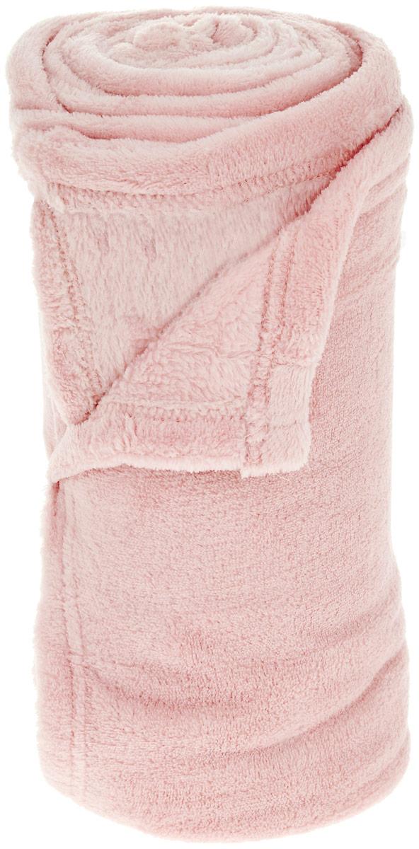 Плед Seta, 120 х 180 см, цвет: светло-розовый02306817Плед Seta выполнен из 100% полиэстера. Прекрасные пледы компании Seta окутают Вас теплом и лаской в самые суровые морозы. А в теплое время года придадут необыкновенную элегантность интерьеру Вашего дома. Плед легко стирается и быстро сохнет, на нем не образуются катышки.