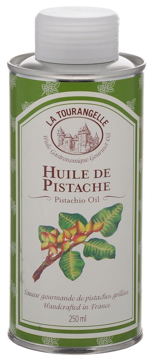 La Tourangelle Pistachio Oil масло фисташковое, 250 мл8420642000206La Tourangelle Pistachio Oil - смесь нерафинированного масла первого отжима и рафинированного масла. Масло имеет интенсивный вкус и аромат фисташек и роскошный изумрудно-зеленый цвет. Фисташковое масло можно использовать при приготовлении заправок для салатов, смешивая с бальзамическим уксусом или красным винным уксусом для создания простого и вместе с тем ни с чем несравнимого сочетания ароматов. Попробуйте его также с белым уксусом, настоянном на эстрагоне. Масло также можно употреблять с мясом или рыбой, приготовленными на гриле, добавить к макаронам, при приготовлении выпечки – тортов, печенья, пирожных, особенно если собираетесь использовать при этом груши или яблоки. Масло можно подогревать до средних температур.