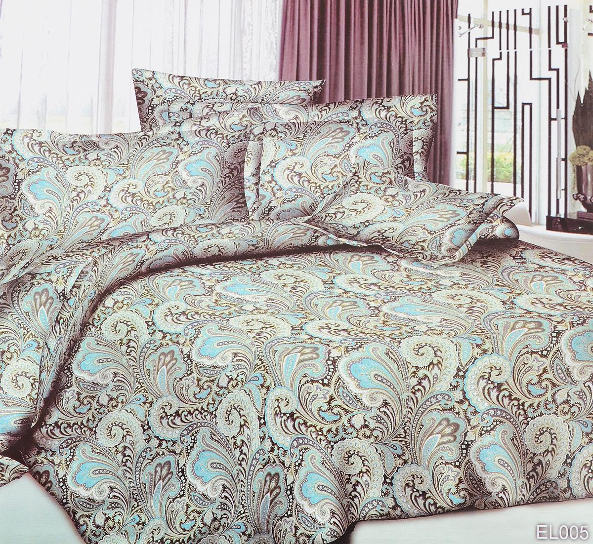 Комплект белья ЭГО Шик, 1,5-спальный, наволочки 70x70CA-3505Комплект белья ЭГО Шик выполнен из полисатина (50% хлопка, 50% полиэстера). Комплект состоит из пододеяльника, простыни и двух наволочек. Постельное белье имеет изысканный внешний вид и яркую цветовую гамму. Гладкая структура делает ткань приятной на ощупь, мягкой и нежной, при этом она прочная и хорошо сохраняет форму. Ткань легко гладится, не линяет и не садится. Приобретая комплект постельного белья ЭГО Шик, вы можете быть уверенны в том, что покупка доставит вам и вашим близким удовольствие и подарит максимальный комфорт.