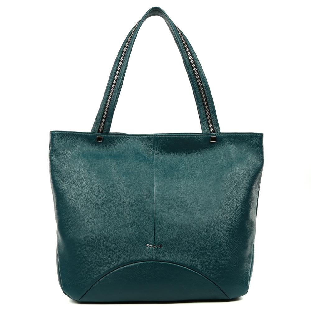 Сумка женская Palio, цвет: изумрудный. 14626A1-687S76245Классическая сумка от итальянского бренда Palio выполнена из натуральной кожи, которая имеет мягкую и нежную фактуру. Строгий дизайн модели, ее яркий темно-зеленый цвет, тонкие геометрические линии, и фурнитура, выполненная в серебре подойдут к любому современному образу. Классический аксессуар дополнит как деловой, так и повседневный стиль, а модные ручки с молниями сделают его более изысканным. Сумка имеет два вместительных отделения, которые вмещают папки формата A4. Внутри аксессуара вы с легкостью расположите свой сотовый телефон и другие женские мелочи за счет удобных карманов. На тыльной стороне дизайнеры разместили вместительный карман, который закрывается на стильную молнию с кожаным поводком.