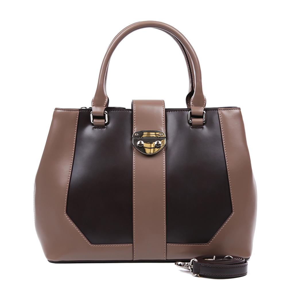 Сумка женская Leo Ventoni, цвет: коричневый. 23004433S76245Элегантная сумка от итальянского бренда Leo Ventoni выполнена из натуральной плотной кожи, которая держит форму и имеет невероятно мягкую и приятную на ощупь фактуру.Сумка имеет одно вместительное отделение, которое разделено на два отсека карманом на молнии. Внутри сумки вы с легкостью сможете расположить свой сотовый телефон и другие женские мелочи с помощью удобных и вместительных карманов. Модель вмещает формат A4, в комплекте имеется изысканный наплечный ремень.