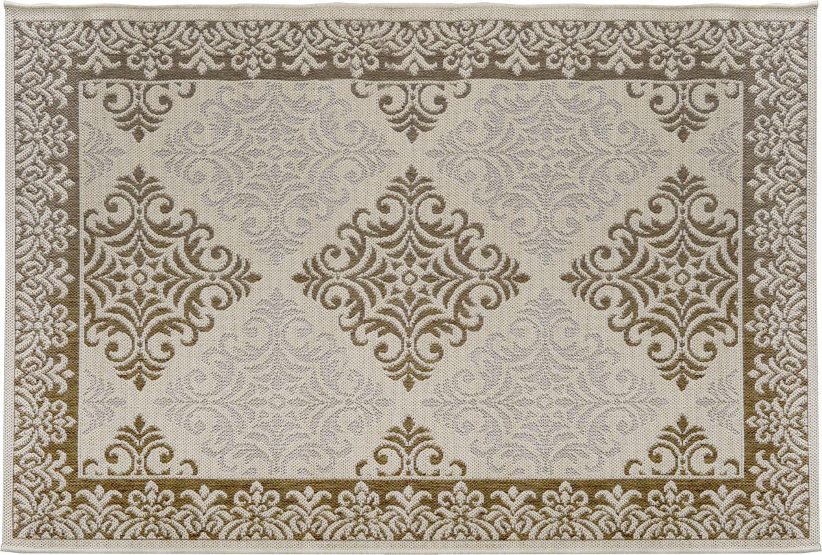 Ковер Oriental Weavers Давн, цвет: бежевый, коричневый, 120 х 170 см18533/корПрикроватный коврик Oriental Weavers Давн выполнен из текстиля и полипропилена. Изделие долго прослужит в вашем доме, добавляя тепло и уют, а также внесет неповторимый колорит в интерьер любой комнаты.Такой коврик отлично подойдет к вашему интерьеру.