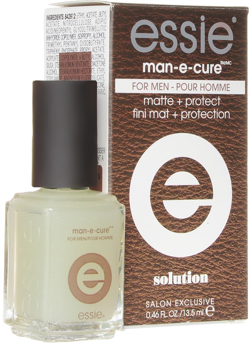 Essie professional Мужское защитное покрытие с естественным эффектом MAN-E-CURE, 13,5 мл1092018Essie professional - эксперт салонного маникюра в США с 1981 года, был основан в Нью-Йорке Эсси Вайнгартен. Essie professional любят за уникальный подход к цвету, неповторимые названия, которые задали тренд в нейл индустрии. Essie professional - это современный тренд для бьюти профессионалов, инсайдеров индустрии, знаменитостей и модных женщин более чем в 100 странах мира. Авторитет в мире цвета Essie professional блистает на подиумах всего мира от Нью-Йорка до Парижа. Звездная линейка уходов и более 900 оттенков созданными за всю историю бренда полностью соответствуют всем стандартам безопасности. Essie предлагает изысканные коллекции, созданные эксклюзивно Международным Директором по Цвету Ребеккой Минкофф, известным Нью-Йоркским дизайнером.