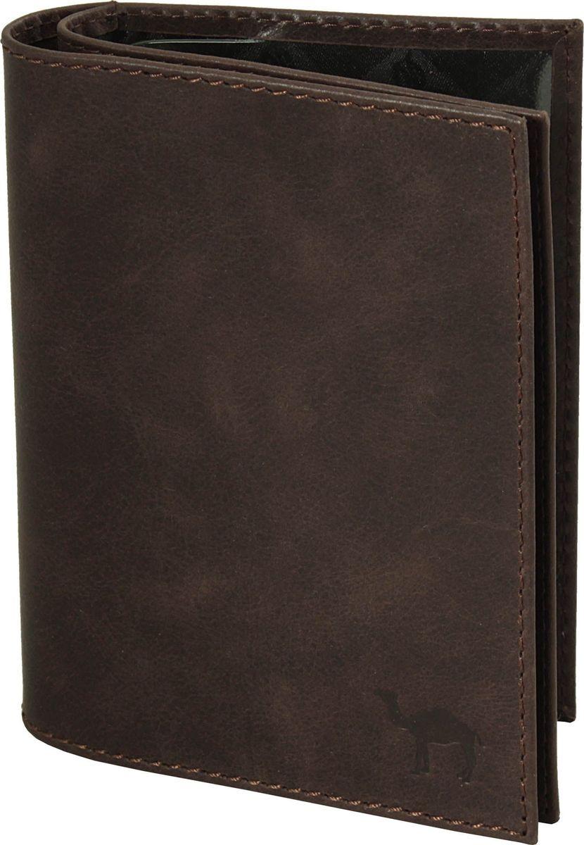 Бумажник водителя мужской Dimanche Camel, цвет: коричневый. 631/КINT-06501Бумажник водителя Dimanche Camel стандартного размера изготовлен из натуральной кожи. Внутри имеется 4 кармана для кредиток, карман для sim карты, вертикальный карман из кожи и специальное отделение для паспорта . А также бумажник оснащен пластиковым блоком для документов водителя.