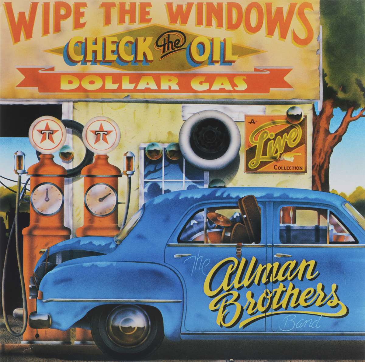 The Allman Brothers Band The Allman Brothers Band. Wipe The Windows, Check The Oil, Dollar Gas (2 LP) the counterlife