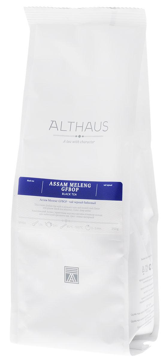где купить  Althaus Assam Meleng GFBOP черный листовой чай, 250 г  по лучшей цене