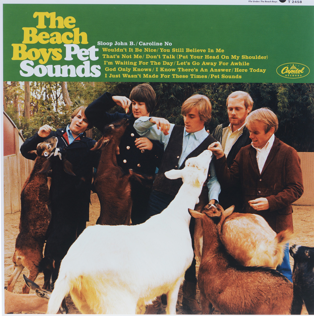 The Beach Boys The Beach Boys. Pet Sounds (LP)