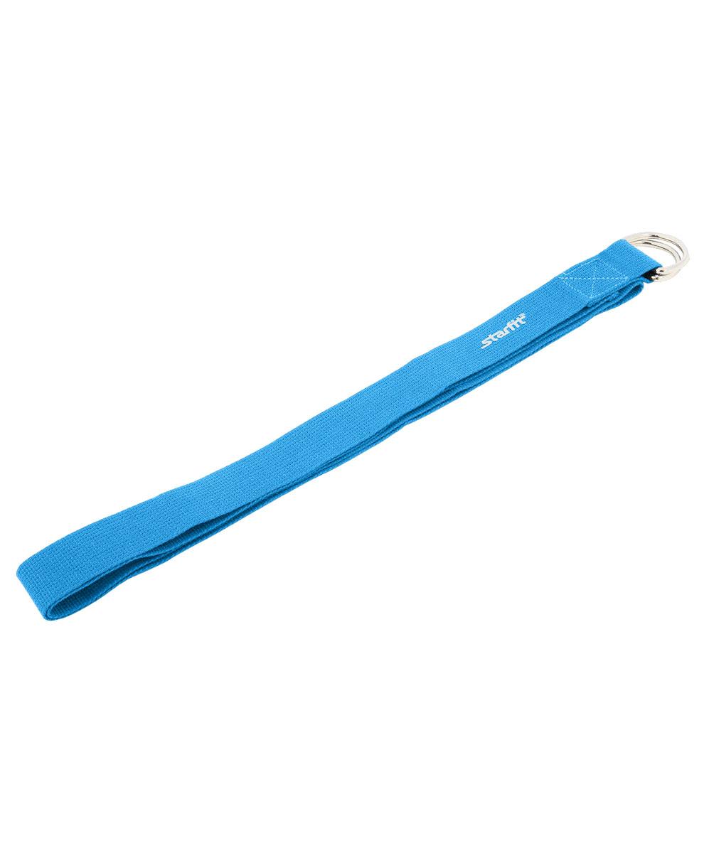 Ремень для йоги Starfit FA-103, цвет: синий, 186 х 3,8 смWRA523700Ремень для йоги Star Fit FA-103 изготовлен из прочной ткани. Ремень поможет выполнить упражнения при недостаточной растяжке мышц и связок, а также будет помощником в позициях в йоге. Аксессуар необходим для выполнения сложных упражнений, требующих максимальной гибкости и сноровки.