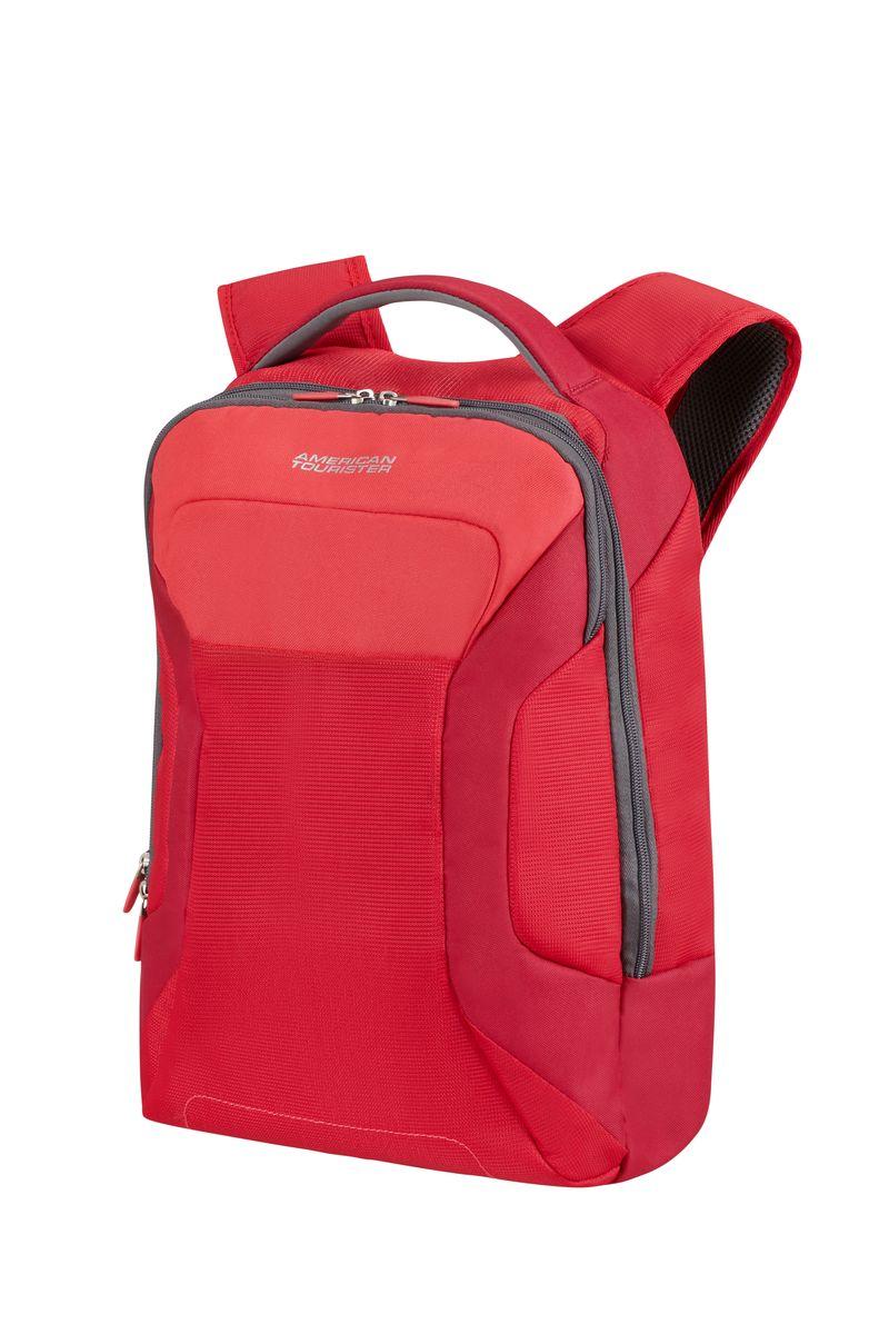Рюкзак для ноутбука Road Quest American Tourister, цвет: красный, 30 х 18 х 43 смZ90 blackРюкзак для ноутбука до 15,6 Road Quest American Tourister изготовлен из полиэстера. Содержит два отделения на застежках-молниях: для ноутбука до 15,6 и для планшета 10,1.Размер рюкзака: 30 х 18 х 43 см. Объем рюкзака: 18,5 л.