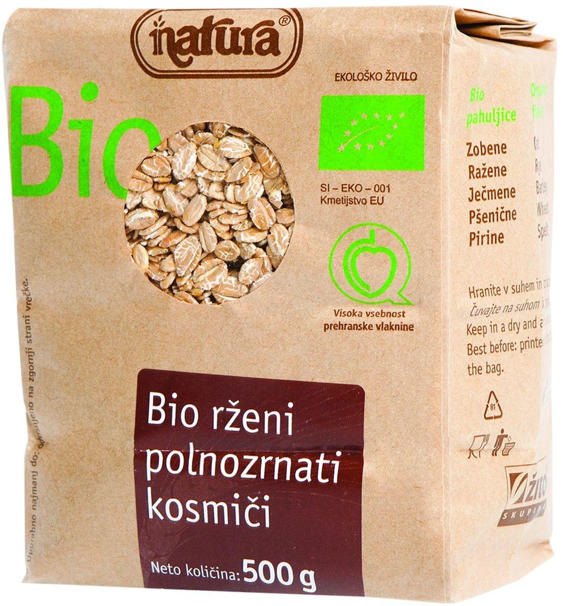 Zito Natura Bio Хлопья ржаные цельнозерновые, 500 г0120710Рожь – это злак родом из северной Европы. Он хорошо адаптируется и к регионам, менее подходящим для выращивания пшеницы.Органические продукты Natura имеют маркировку в соответствии с законодательством и европейскую экологическую маркировку сертифицированных органических продуктов питания, так как при их производстве не используются удобрения и распылители, запрещенные в органическом производстве и обработке. Органические продукты произведены под контролем SI - EKO - 001.Органические продукты Natura производятся в регионах, где природа пока еще живет своей жизнью. Они попадают на полки магазинов и на столы людей, выбирающих здоровое питание, в той же форме, в которой их создала природа: натуральными, питательными и здоровыми. Разнообразные натуральные зерна и семена обладают всеми свойствами злаков, полностью сохраняя, таким образом, свои полезные качества.