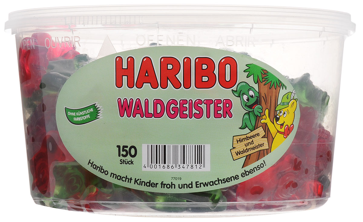 Haribo Привидения мармелад жевательный, 1,2 кг8253008Haribo Привидения - хит продаж в Германии! Абсолютно восхитительные, знакомые с детства вкусы малины и тархуна. Мягкий сочный мармелад с изумрудно-зеленым и красным оттенками. А вы уже попробовали?