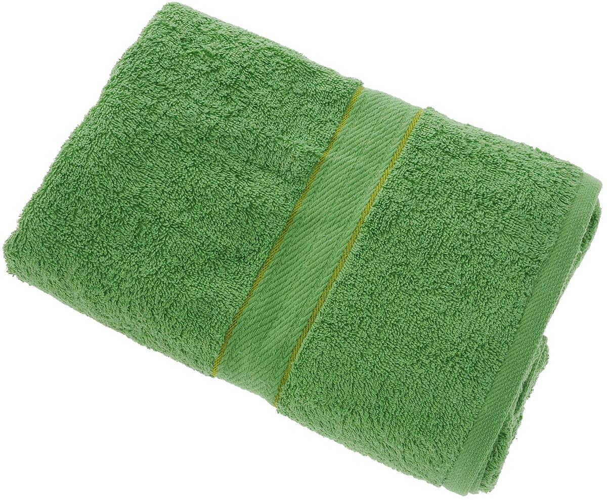 Полотенце Aisha Home Textile, цвет: зеленый, 70 х 140 см531-105Махровые полотенца AISHA Home Textile идеальное сочетание цены и качества. Полотенца упакованы в стильную подарочную коробку. В состав входит только натуральное волокно - хлопок. Лаконичные бордюры подойдут для любого интерьера ванной комнаты. Полотенца прекрасно впитывает влагу и быстро сохнут. При соблюдении рекомендаций по уходу не линяют и не теряют форму даже после многократных стирок.Состав: 100% хлопок.