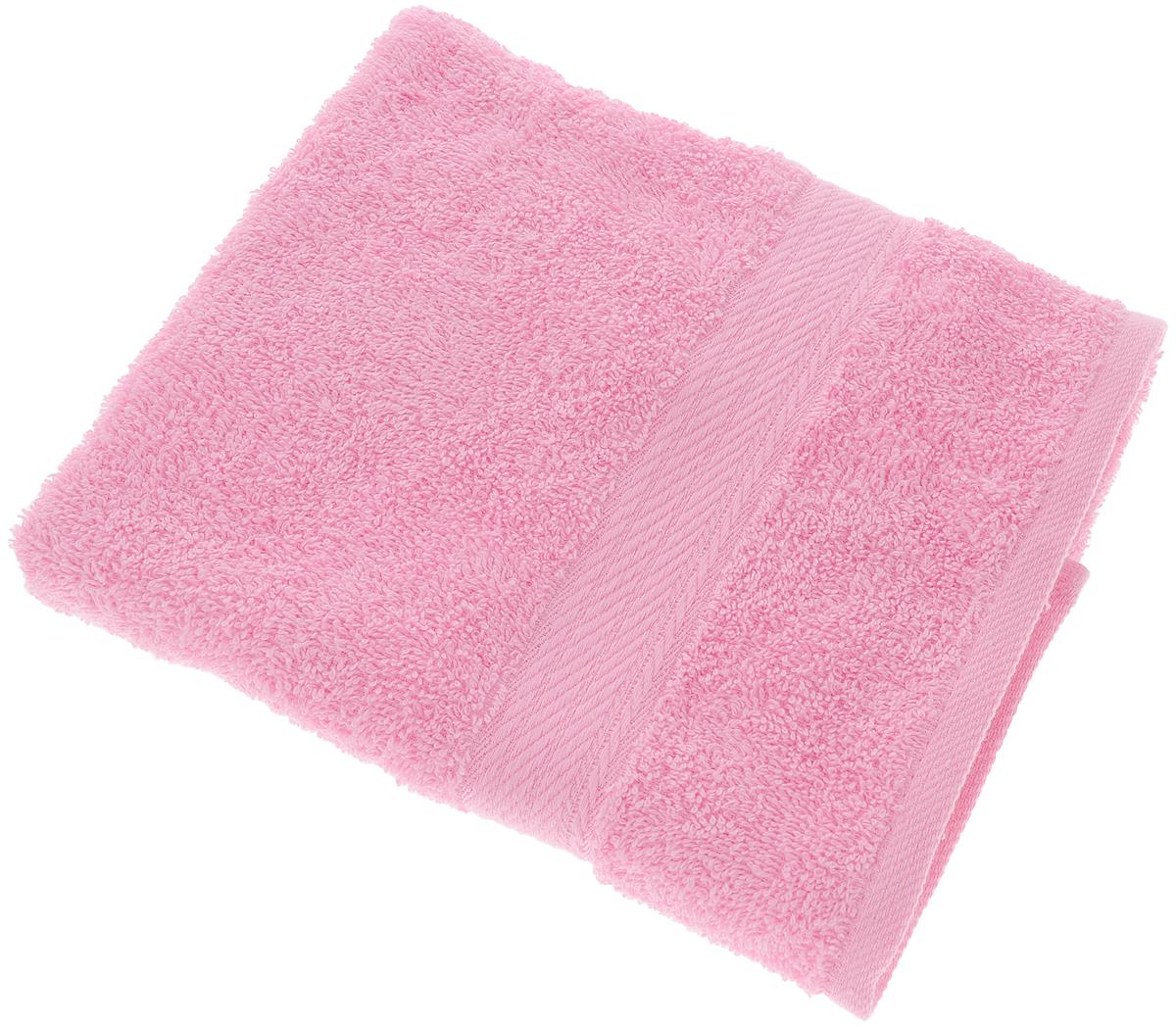 Полотенце Aisha Home Textile, цвет: розовый, 50 х 90 см68/5/3Махровые полотенца AISHA Home Textile идеальное сочетание цены и качества. Полотенца упакованы в стильную подарочную коробку. В состав входит только натуральное волокно - хлопок. Лаконичные бордюры подойдут для любого интерьера ванной комнаты. Полотенца прекрасно впитывает влагу и быстро сохнут. При соблюдении рекомендаций по уходу не линяют и не теряют форму даже после многократных стирок.Состав: 100% хлопок.