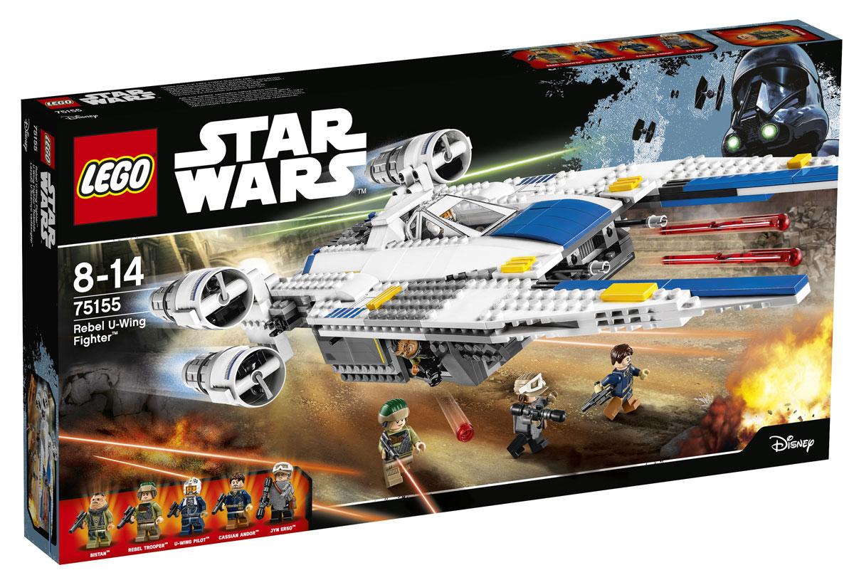 LEGO Star Wars Конструктор Истребитель Повстанцев U-Wing 75155
