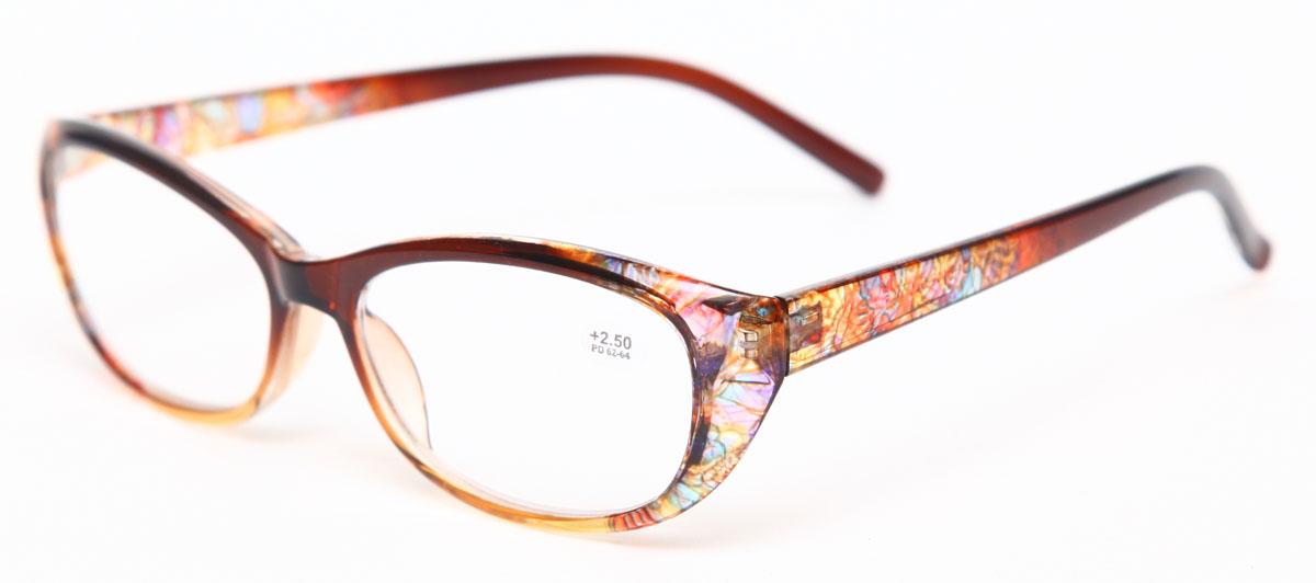 Proffi Home Очки корригирующие (для чтения) 729 Fabia Monti +2.50, цвет: желтыйперфорационные unisexНадев эти очки, вы сможете четко видеть пространство впереди себя. Они удобны при чтении. Оправа очков легкая и не создает никакого дискомфорта.