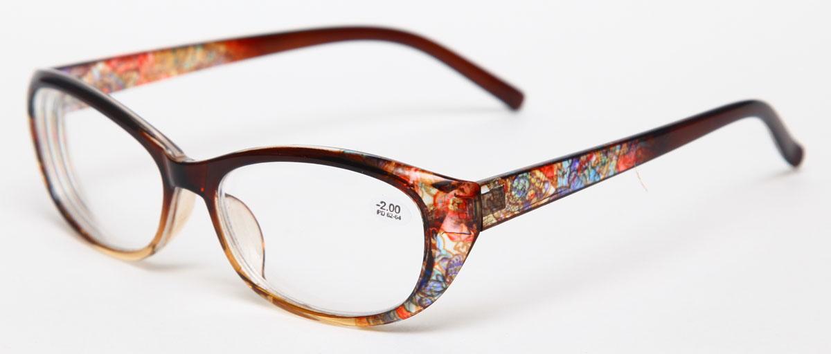 Proffi Home Очки корригирующие 729 Fabia Monti -2.00, цвет: желтыйPH5588Надев эти очки, вы сможете четко видеть пространство впереди себя. Они удобны при чтении. Оправа очков легкая и не создает никакого дискомфорта.