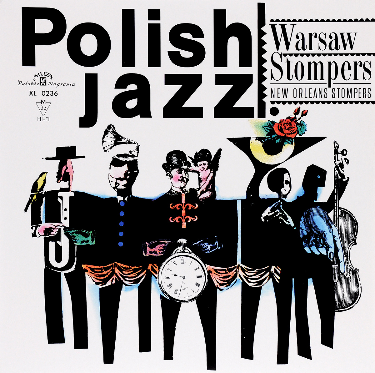 New Orleans Stompers Polish Jazz. New Orleans Stompers. Warsaw Stompers (LP) b a p warsaw
