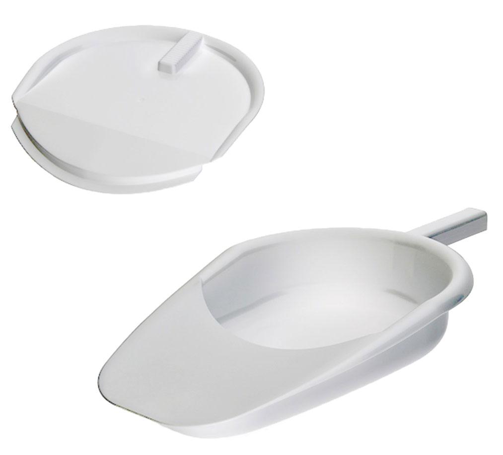 Avanti medical Судно подкладное пластмассовое, с крышкой - Санитарные приспособления