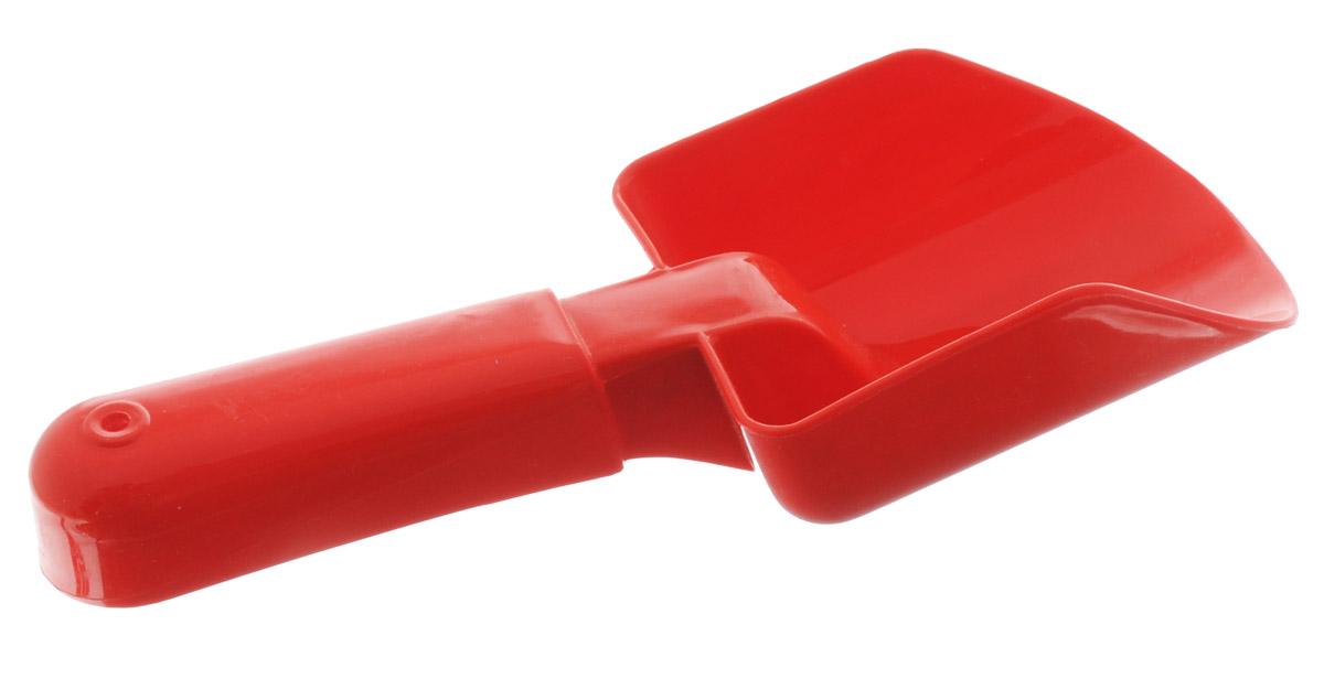 Karolina Toys Совочек детский цвет красный karolina toys игрушка каталка колесо