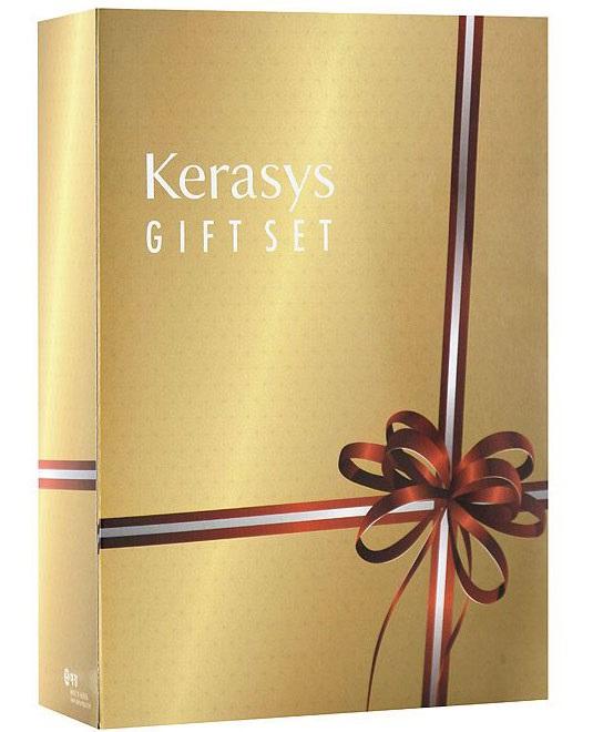 KeraSys Подарочный набор для волос Salon Care. Питание: шампунь, кондиционер, мыло, 2 штFS-00897Подарочный набор KeraSys Salon Care. Питание включает шампунь, бальзам-ополаскиватель для волос и два мыла. Шампунь KeraSys Salon Care с трехфазной системой восстановления делает здоровыми даже сильно поврежденные волосы. Компонент природного протеина, содержащегося в экстракте моринги, экстракт семян подсолнуха и технология ампульной терапии обеспечивает уход за поврежденными, сухими волосами.Трехфазная система восстановления:Природный протеин, содержащийся в экстракте плодов моринги, укрепляет и оздоравливает структуру поврежденных волос.Экстракт семян подсолнуха препятствует воздействию ультрафиолетовых лучей, защищает от внешних вредных воздействий, делает волосы здоровыми. Компонент природного кератина, полифенол, компонент красного вина и кристаллический компонент делают волосы здоровыми.Кондиционер для волос Kerasys Salon Care с трехфазной системой восстановления делает здоровыми даже сильно поврежденные волосы. Компонент природного протеина, содержащегося в экстракте моринги, экстракт семян подсолнуха и технология ампульной терапии обеспечивает уход за поврежденными, сухими волосами.Мыло Vital Energyсодержит в своем составе экстракты альпийских трав и коэнзим Q10, которые успокаивают и подтягивают вашу кожу, что делает ее более здоровой и красивой. Мыло обладает ароматом розы и спелых фруктов, надолго придающим ощущение нежности вашей коже.Мыло Silk Moistureсодержит в своем составе экстракты альпийских трав и минеральное масло, которые успокаивают и увлажняют вашу кожу, что делает ее более здоровой и красивой. Мыло обладает персиковым ароматом, надолго придающим ощущение блаженства вашей коже. Характеристики:Объем шампуня: 470 мл. Объем бальзама: 470 мл. Вес мыла: 2 х 100 г. Товар сертифицирован.