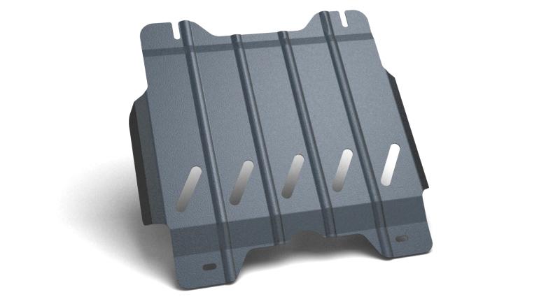 Защита картера и крепеж Novline-Autofamily, для TOYOTA Hilux, 2010-2015, 2.5 дизельный, МКППMW-3101Защита картера Novline-Autofamily, изготовленная из прочной стали, надежно защищает днище вашего автомобиля от повреждений, например при наезде на бордюры, а также выполняет эстетическую функцию при установке на высокие автомобили.- Отлично отводит тепло от двигателя своей поверхностью, что спасает двигатель от перегрева в летний период или при высоких нагрузках.- В отличие от стальных, стальные защиты не поддаются коррозии, что гарантирует долгий срок службы защит.- Покрываются порошковой краской, что надолго сохраняет первоначальный вид новой защиты и защищает от гальванической коррозии.- Прочное крепление дополнительно усиливает конструкцию защиты.