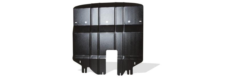 Защита картера и крепеж Novline-Autofamily, для HYUNDAI Tucson, 2015-, 1,6 бензиновый, АКППVCA-00Защита картера Novline-Autofamily, изготовленная из прочной стали, надежно защищает днище вашего автомобиля от повреждений, например при наезде на бордюры, а также выполняет эстетическую функцию при установке на высокие автомобили.- Отлично отводит тепло от двигателя своей поверхностью, что спасает двигатель от перегрева в летний период или при высоких нагрузках.- В отличие от стальных, стальные защиты не поддаются коррозии, что гарантирует долгий срок службы защит.- Покрываются порошковой краской, что надолго сохраняет первоначальный вид новой защиты и защищает от гальванической коррозии.- Прочное крепление дополнительно усиливает конструкцию защиты.
