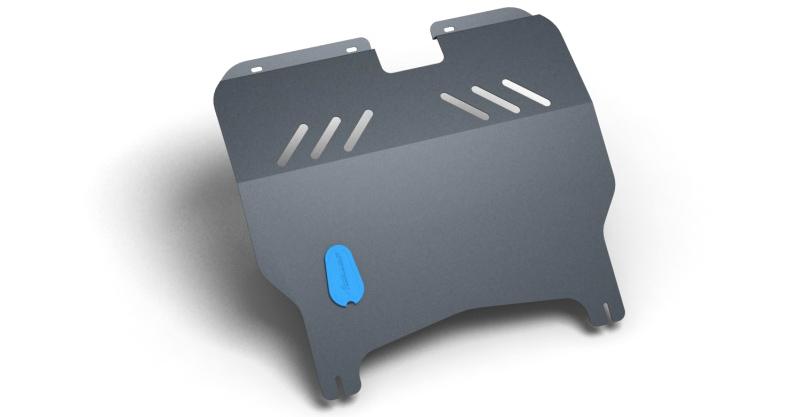 Защита картера и крепеж Novline-Autofamily, для HYUNDAI Matrix, 2001-, 2 мм, 1.6/1.8 бензиновый, МКПП/АКППSATURN CANCARDЗащита картера Novline-Autofamily, изготовленная из прочной стали, надежно защищает днище вашего автомобиля от повреждений, например при наезде на бордюры, а также выполняет эстетическую функцию при установке на высокие автомобили.- Отлично отводит тепло от двигателя своей поверхностью, что спасает двигатель от перегрева в летний период или при высоких нагрузках.- В отличие от стальных, стальные защиты не поддаются коррозии, что гарантирует долгий срок службы защит.- Покрываются порошковой краской, что надолго сохраняет первоначальный вид новой защиты и защищает от гальванической коррозии.- Прочное крепление дополнительно усиливает конструкцию защиты.
