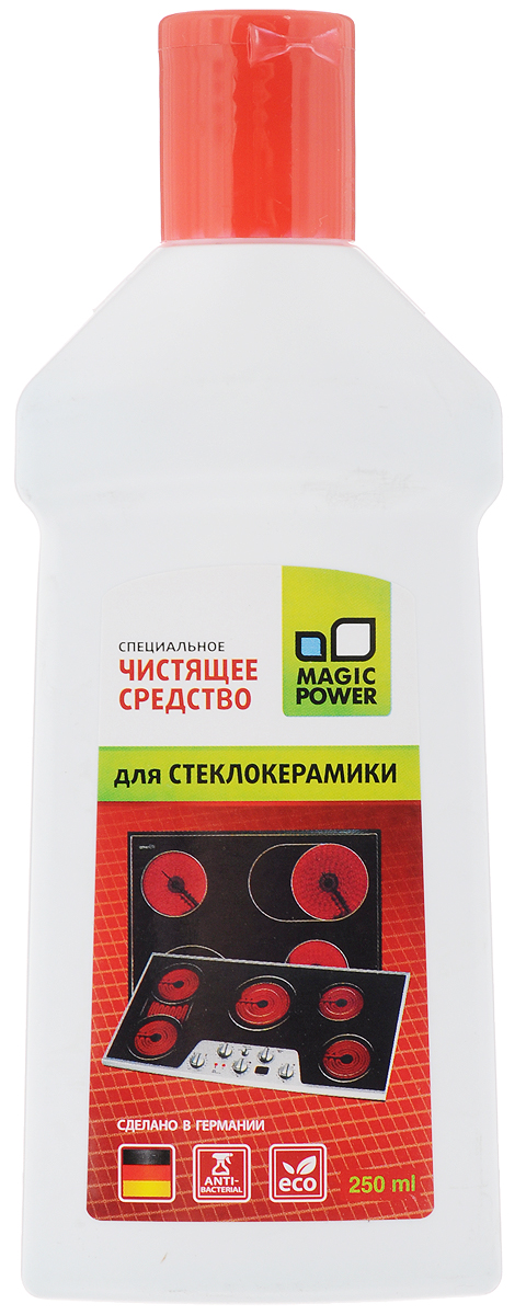 Средство для чистки стеклокерамики Magic Power, 250 мл средство для чистки и полировки нержавеющей стали magic power 250 мл