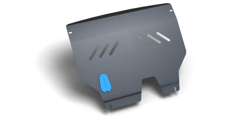 Защита картера и крепеж Novline-Autofamily, для HYUNDAI Getz II, 2002-2011, 1.1/1.4/1.6, бензиновый, МКПП/АКПП1004900000360Защита картера Novline-Autofamily, изготовленная из прочной стали, надежно защищает днище вашего автомобиля от повреждений, например при наезде на бордюры, а также выполняет эстетическую функцию при установке на высокие автомобили.- Отлично отводит тепло от двигателя своей поверхностью, что спасает двигатель от перегрева в летний период или при высоких нагрузках.- В отличие от стальных, стальные защиты не поддаются коррозии, что гарантирует долгий срок службы защит.- Покрываются порошковой краской, что надолго сохраняет первоначальный вид новой защиты и защищает от гальванической коррозии.- Прочное крепление дополнительно усиливает конструкцию защиты.