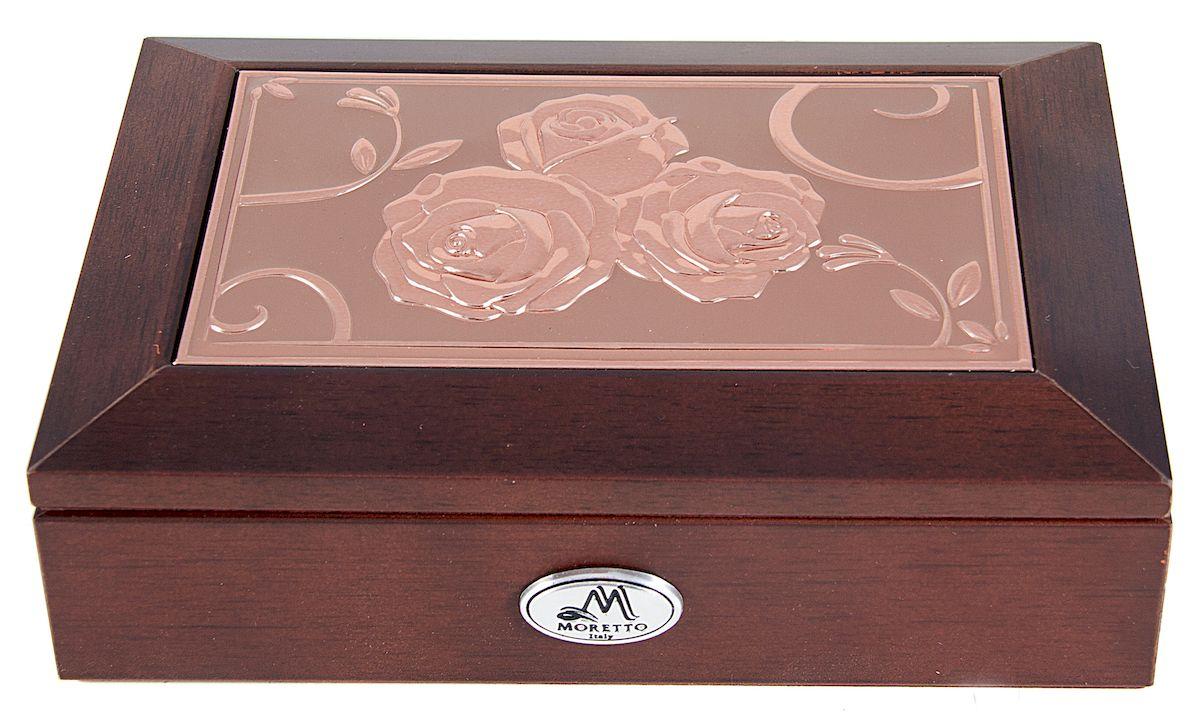 Шкатулка для ювелирных украшений Moretto, 18 х 13 х 5 см. 139595