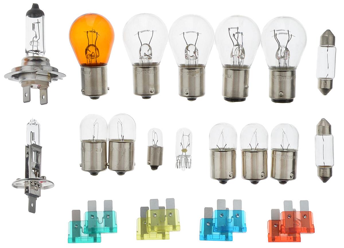 Набор ламп Philips MaxiKit (вибростойкая) MasterDuty для автомобильных фар 24В H1 24V- 70W (P14,5s) + H7 24V- 70W (PX26d). 55561LKMDKM10503Лампы для головного освещения MasterDuty обеспечиваютмаксимальную вибростойкость и долгий срок службы. Этилампы для головного освещения служат в 2 раза дольше, ихвибростойкость увеличена в два раза по сравнению с обычнымилампами, представленными на рынке. Лампы MasterDuty отличаютсяповышенной прочностью крепления цоколя для непревзойденнойзащиты от механических ударов, а также прочной двойной нитьюнакаливания, которая выдерживает значительные вибрации.MasterDuty — лучший выбор для водителей, которым нужнапродолжительная прочность.