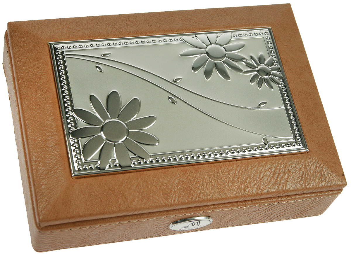 Шкатулка для ювелирных украшений Moretto, 18 х 13 х 5 см. 139536P6094Шкатулка Moretto станет идеальным обрамлением для вашей коллекции украшений, заставляя заиграть ее новыми красками. Шкатулка выполнена в классическом стиле. Одноярусная схема исполнения и зеркало, скрывающееся под крышкой, позволит вам провести немало приятных минут, примеряя свои драгоценности.Размеры шкатулки: 18 х 13 х 5 см.