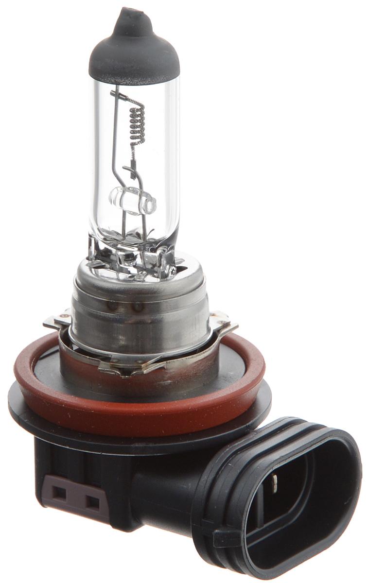 Лампа автомобильная галогенная Philips MasterDuty, для фар, цоколь H1 (P14,5s), 24V, 70W. 13258MDC110503Галогенная лампа для автомобильных фар Philips MasterDuty произведена из запатентованного кварцевого стекла с УФ фильтром Philips Quartz Glass. Кварцевое стекло Philips в отличие от обычного твердого стекла выдерживает гораздо большее давление смеси газов внутри колбы, что препятствует быстрому испарению вольфрама с нити накаливания. Кварцевое стекло выдерживает большой перепад температур, при попадании влаги на работающую лампу изделие не взрывается и продолжает работать. Лампы для головного освещения MasterDuty имеют максимальную вибростойкость и обеспечивают долгий срок службы. Эти лампы служат в 2 раза дольше, их вибростойкость увеличена в два раза по сравнению с обычными лампами, представленными на рынке. Лампы MasterDuty отличаются повышенной прочностью крепления цоколя для непревзойденной защиты от механических ударов, а также прочной двойной нитью накаливания, которая выдерживает значительные вибрации. MasterDuty - лучший выбор для водителей, которым нужна продолжительная прочность.Автомобильные галогенные лампы Philips удовлетворят все нужды автомобилистов: дальний свет, ближний свет, передние противотуманные фары, передние и боковые указатели поворота, задние указатели поворота, стоп-сигналы, фонари заднего хода, задние противотуманные фонари, освещение номерного знака, задние габаритные/стояночные фонари, освещение салона.