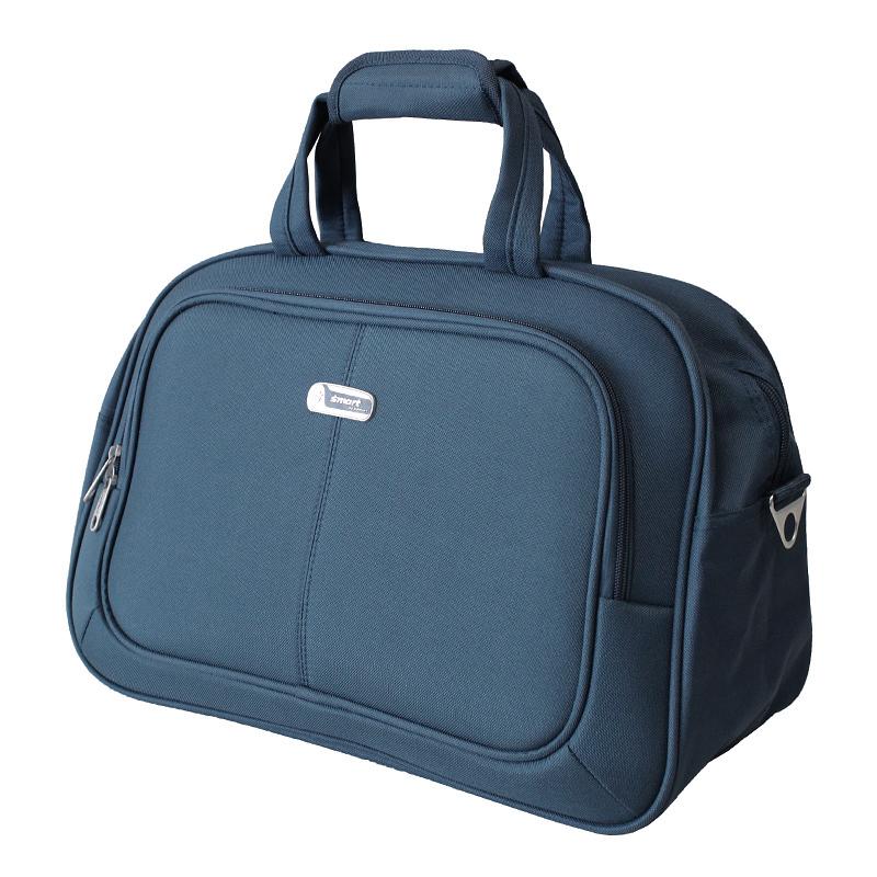 Дорожная сумка Edmins, цвет: изумрудный, 44х30х16см13366-13Сумка дорожная. Снаружи на передней стенке карман на молнии. В комплекте плечевой ремень. Максимальный вес нагрузки 5кг. Вес 0,9кг. Используется, как ручная кладь.