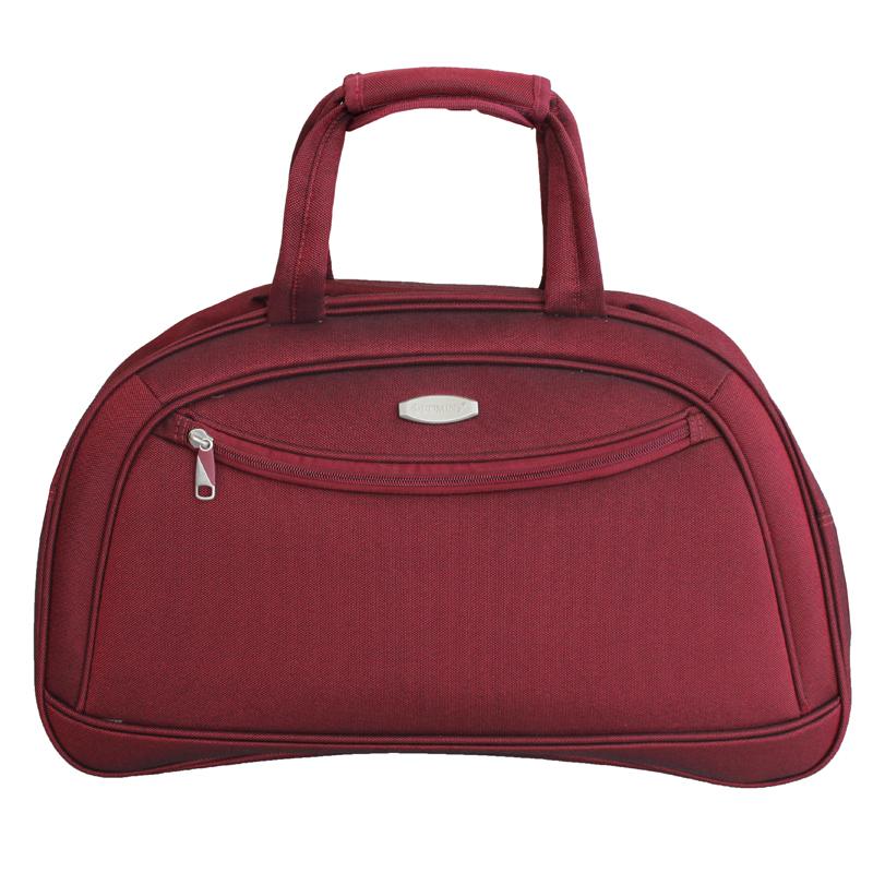 Дорожная сумка Edmins, цвет: бордовый, 50 х 33 х 20 см213 НF 420*2Дорожная сумка Edmins удачно сочетает последние модные тенденции, ведущие технологии производства и функциональность.Максимальная нагрузка 8 кг; используется, как ручная кладь.Размер: 50 х 33 х 20 см