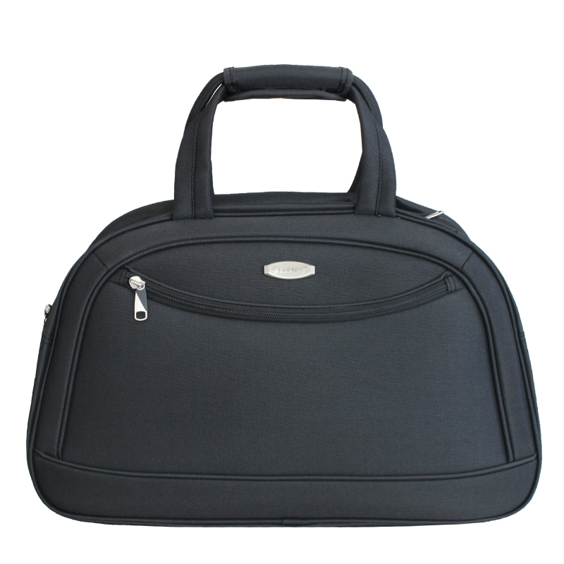 Дорожная сумка Edmins, цвет: темно-серый, 46х30х16см7292Максимальная нагрузка 7 кг; используется, как ручная кладь.