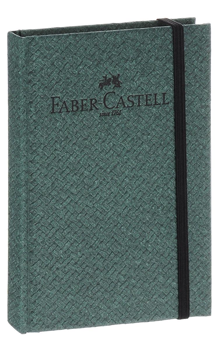 Faber-Castell Блокнот Бамбук 50 листов в клеткуЕКП51415209Блокнот Faber-Castell Бамбук - незаменимый атрибут современного человека, необходимый для рабочих и повседневных записей в офисе и дома.Фронтальная часть обложки выполнена из картона и оформлена надписью бренда.Внутренний блок состоит из 50 листов белой бумаги. Стандартная линовка в серую клетку без полей. Листы блокнота надежно сшиты. Фиксируется блокнот при помощи резинки.