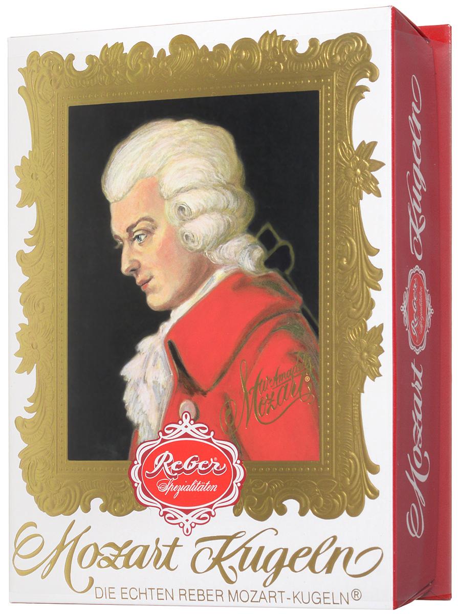 Reber Mozart Kugeln конфеты с горьким и молочным шоколадом, 240 г5060295130016Reber Mozart Kugeln - непревзойденные шоколадные конфеты, которые заполнены свежими зелеными фисташками, миндалем, фундуком, а сверху покрыты слоем горького и молочного шоколада.